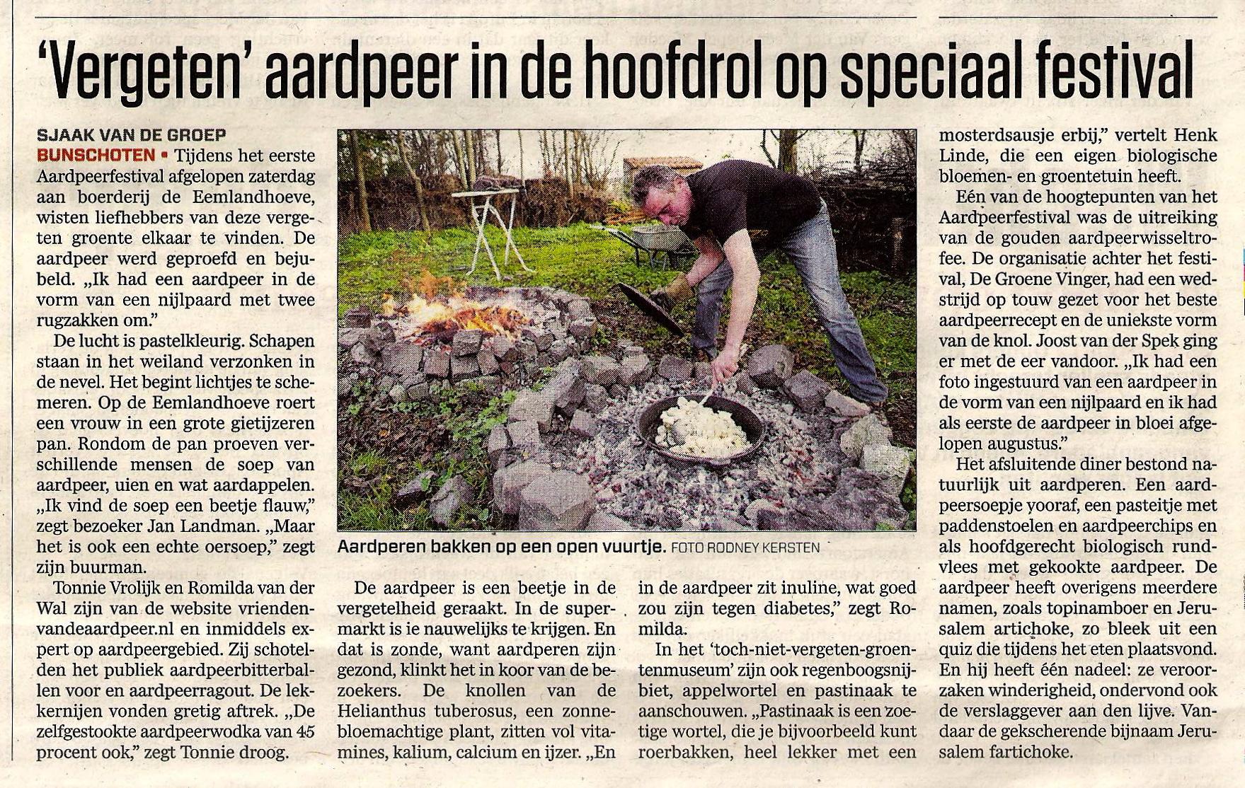 Amersfoortse Courant 21-11-2011